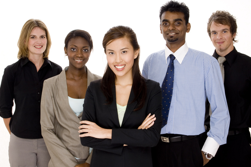Canadian citizenship multi-ethnic group of people