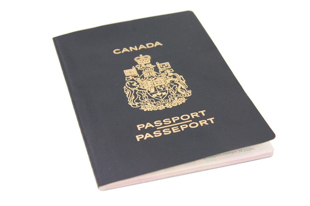 Canadian citizenship passport