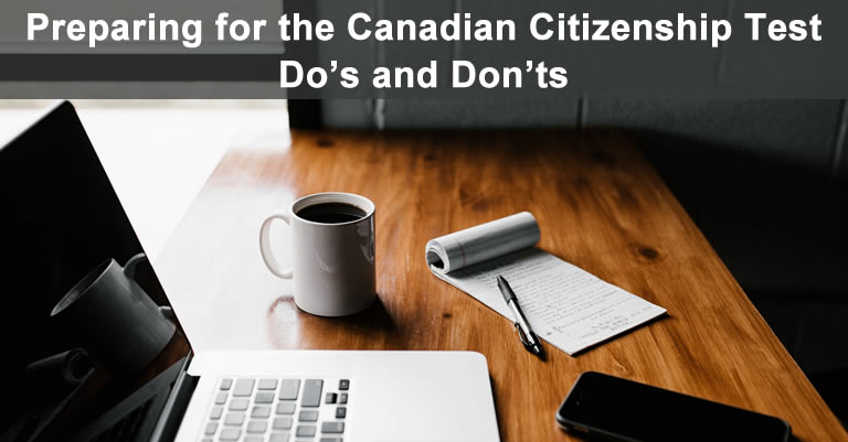 Canadian citizenship test preparation